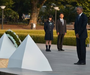 President Obama makes historic visit to Hiroshima