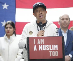 Protesters hold 'I Am A Muslim Too' rally in New York