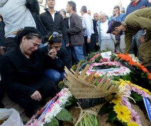 IDF Maj. Yochai Kalangel Funeral in Jerusalem