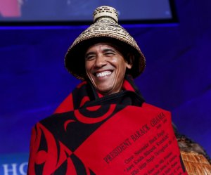 President Obama hosts White House Tribal Nations Conference