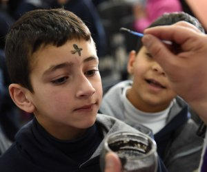 Ash Wednesday in Jerusalem's Old City