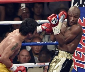 Floyd Mayweather and Manny Paciquiao Welterweight Fight