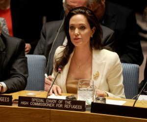 Agelina Jolie at the United Nations
