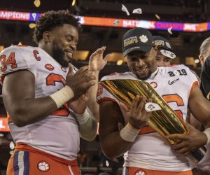 Clemson dominates Alabama in CFP national championship