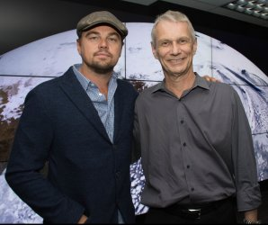 Leonardo DeCaprio visits NASA to discuss climate change