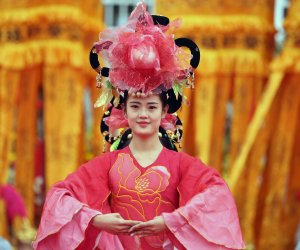 Memorial ceremony for the Yellow Emperor in China