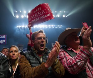 Trump's 'silent majority' rallies with him across the country
