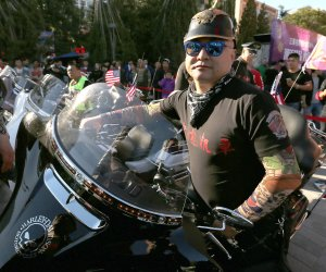 'Old Baby' Harley-Davidson club gathers in Beijing