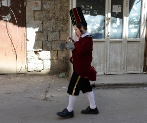 2015 Purim celebrations in Jerusalem