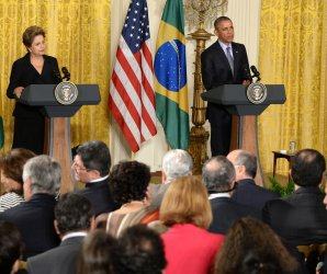 Obama holds press conference with Dilma Rousseff