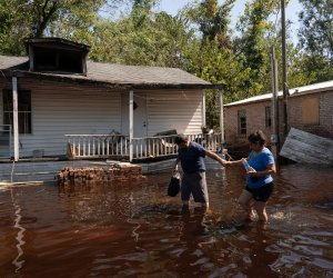 Nearly three dozen dead from Florence; 300K without power