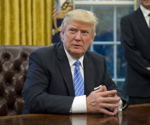 President Trump signs presidential memoranda