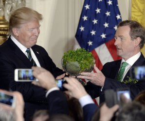 President Trump meets with Irish Prime Minister Enda Kenny