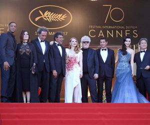 Stars showcase their films at the 70th annual Cannes Film Festival