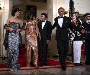 President Obama hosts state dinner for Italian PM Renzi