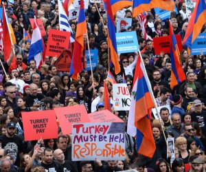 LA marches on 100th anniversary of the Armenian Genocide