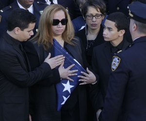 Funeral for NYPD Officer Rafael Ramos