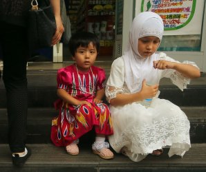 Muslim Uygurs and Kazakhs during Ramadan in China