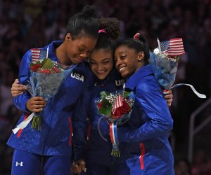 U.S. Olympic women's gymnastics team named