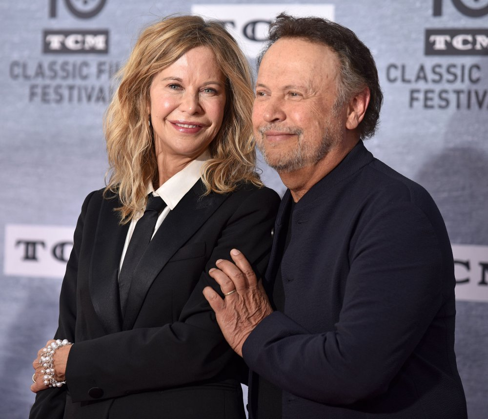 'When Harry Met Sally': Meg Ryan, Billy Crystal reunite at screening
