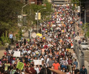 National rally follows charges in Freddie Gray's death