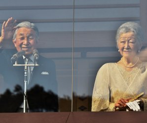 Japan's emperor celebrates his 83rd birthday