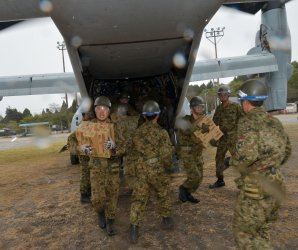 U.S. Marines assist with Kumamoto earthquake recovery efforts in Japan