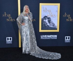 Lady Gaga, Bradley Cooper dazzle at 'A Star is Born' premiere