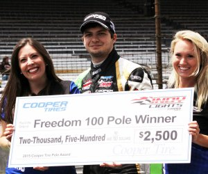 Rookie Ethan Ringel wins pole at Indianapolis Motor Speedway