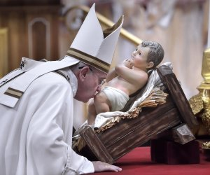 Pope Francis celebrates Christmas Mass