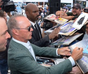"<img src=""/img/camera.png"" style=""padding: 5px 5px 0 0; display: inline;"">Michael Keaton gets a star on the Hollywood Walk of Fame"