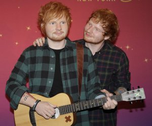 Ed Sheeran unveils wax figure at Madame Tussauds