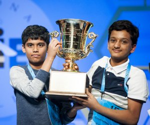 All tied up at the 2016 Scripps National Spelling Bee