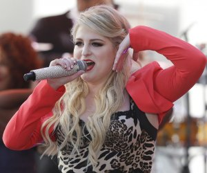 Meghan Trainor perform on the 'Today Show'