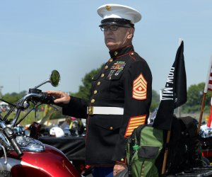 Bikers join annual Rolling Thunder ride in Washington D.C.