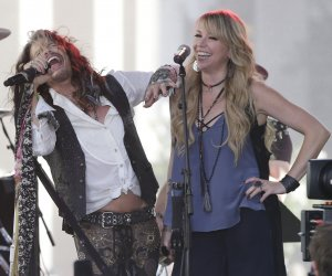 Steven Tyler performs on NBC's 'Today' show