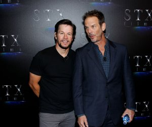 "On the red carpet at the STXfilms ""The State Of The Industry: Past, Present And Future"" presentation at CinemaCon"