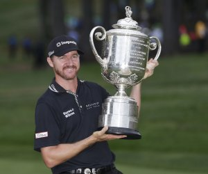 Jimmy Walker takes home the Wanamaker Trophy at the PGA Championship