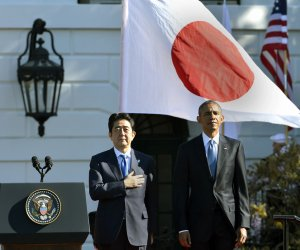 President Obama Welcomes Prime Minister Shinzo Abe of Japan