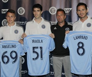 New York City FC introduces new players