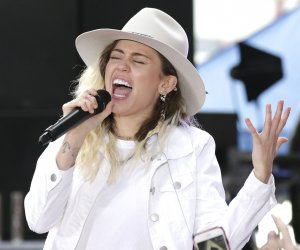 Miley Cyrus performs on 'Today' in New York