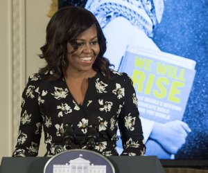 Michelle Obama hosts International Day of the Girl event at the White House