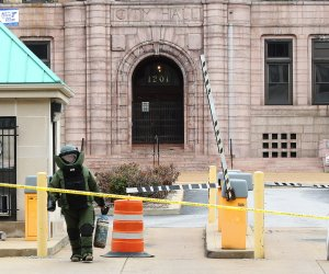 Bomb scare at St. Louis City Hall