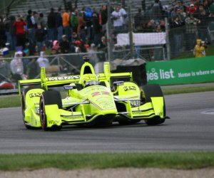 Simon Pagenaud wins the Angie's List Grand Prix of Indianapolis