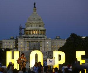 Cancer survivors gather for 'Lights of Hope' ceremony