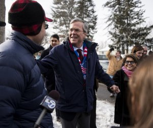 Jeb Bush on the campaign trail