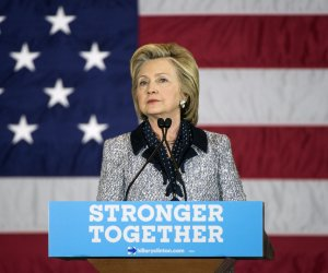 Hillary Clinton campaigns in Pittsburgh