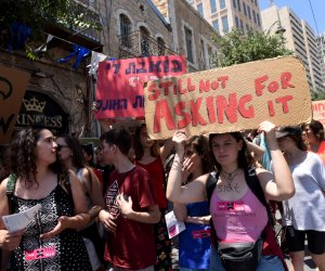 Hundreds demonstrate at annual SlutWalk in Jerusalem