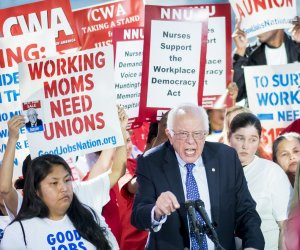 Bernie Sanders announces Workplace Democracy Act