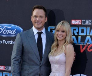 Chris Pratt, Anna Faris attend the 'Guardians of the Galaxy Vol. 2' premiere in Los Angeles